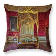 Bedroom At Holkham Hall Throw Pillow