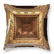 Beds Room Roof La Alhambra Throw Pillow
