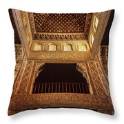Beds Room The Alhambra Throw Pillow
