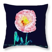 Bee Friendly Throw Pillow