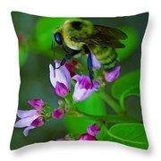 Bee Good 2 Throw Pillow