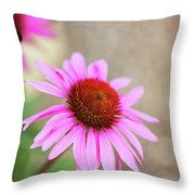 Bee In Motion Throw Pillow