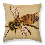 Bee Ix Delphine Throw Pillow