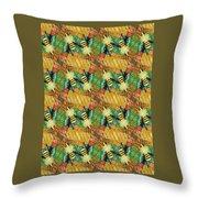Bee Kind  Morph#2 Throw Pillow