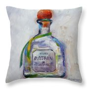 Bee Patron Throw Pillow by Denise H Cooperman