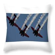 Beechcraft C-45 Expeditor V2 Throw Pillow