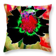 Beedazzling Throw Pillow