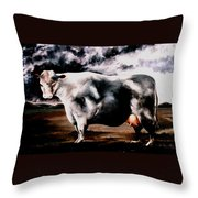 Beef Holocaust Iv Throw Pillow