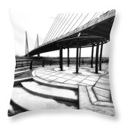 Beeg Breedge Throw Pillow