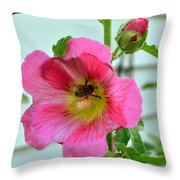 Beehind Throw Pillow