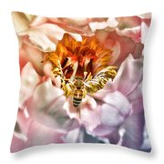 Beekeeper Throw Pillow