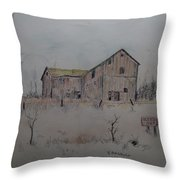 Been Used And Put Away Throw Pillow