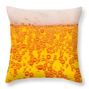 Beer Alcohol Drink Drinks Throw Pillow