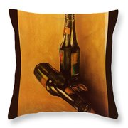 Beer Series 9 Throw Pillow