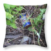 Beers To You Throw Pillow