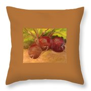 Beet It Throw Pillow