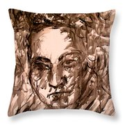 Beethoven Energy Stage One Throw Pillow