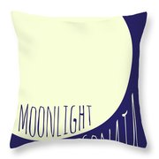 Beethoven Moonlight Sonata Throw Pillow