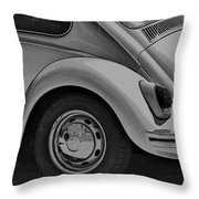 Beetle Art Throw Pillow
