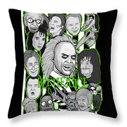 Beetlejuice Tribute Throw Pillow