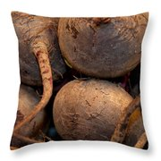 Beets Me Throw Pillow