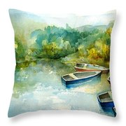 Before A Thunder-storm Throw Pillow