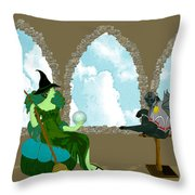 Before Dorothy Throw Pillow