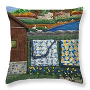 Before Now Throw Pillow by Anne Klar