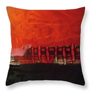 Before Performance Throw Pillow