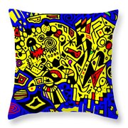 Before Random Was Cool Throw Pillow
