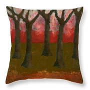 Before Spring Throw Pillow