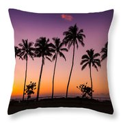 Before Sunrise In Kauai Throw Pillow
