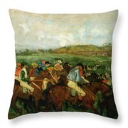 Before The Departure Throw Pillow