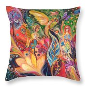 Before The First Sin Throw Pillow