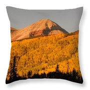 Before The First Snows Throw Pillow
