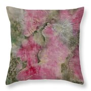 Before The Kiss Throw Pillow