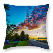 Before The Lunar Eclipse 2 Throw Pillow