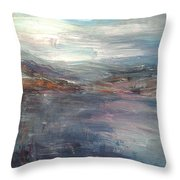 Before The Mountains Were Born Throw Pillow