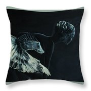 Before The Scene Throw Pillow