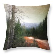 Before The Snow Throw Pillow