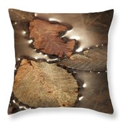 Before The Spring Throw Pillow