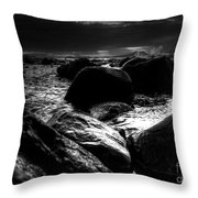 Before The Storm - Seascape Throw Pillow