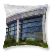Before The Storm Chicago Shedd Aquarium Northside Pa 02 Throw Pillow
