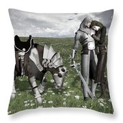 Before The War Throw Pillow