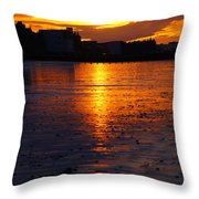 Before The Water Throw Pillow