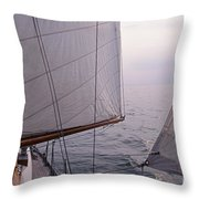 Before The Wind Throw Pillow
