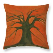 Beginning Of Life Throw Pillow