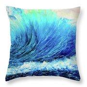 Behemoth Wave Throw Pillow