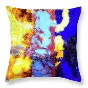Behind The Curtain 2 Throw Pillow