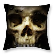 Behind The Mask Throw Pillow